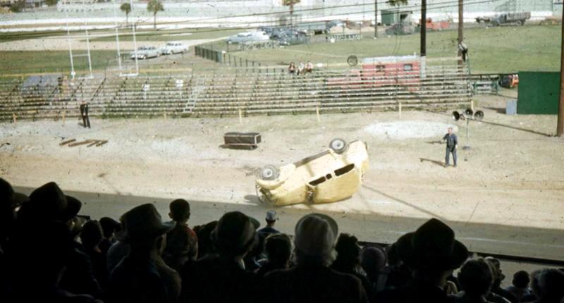 Jack Kochman's Hell Drivers Florida State Fair 1954