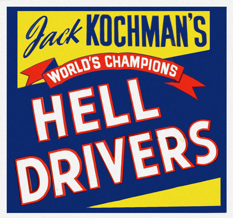 Behind each of the breathtaking events on the Hell Drivers' program